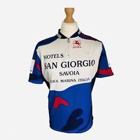 Giordana Mens Cycling Jersey Large San Giorgio Hotel Italy