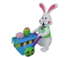 Easter Inflatable Bunny Rabbit Eggs Yard Lawn Spring Indoor Outdoor Decoration