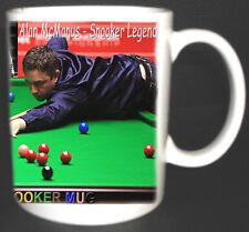 Snooker ALAN McMANUS, il mio LUCKY Snooker mug.limited Edition, CUE, ecc Grande Regalo
