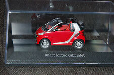 Minimax smart fortwo cabriolet A451 in rallyrot M1:43 PC