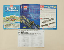 Vintage 2010 Peco Ho Scale Model Train Accessory Product Catalog Lot