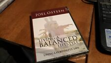 JOEL OSTEEN LIVING A  BALANCED LIFESTYLE BRAND NEW CD