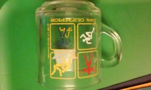 1984 Olympics glass coffee mug, McDonald's