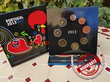 Coffret BU 1 Cent à 2 Euro Portugal 2013 - Coffret Officiel