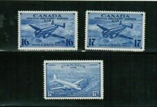CANADA 1942+ 3 AIR SPECIAL DELIVERY #CE1, 2 & 4  (cat$16.00+) M NO GUM BK 01 AIR