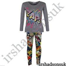 Camisetas y tops de niña de 2 a 16 años de manga larga color principal gris