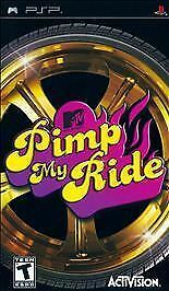 Pimp My Ride (Sony Playstation Portable PSP, 2007) CIB Complete With Manual