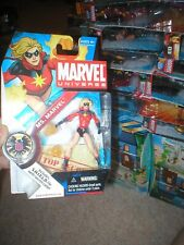 "MARVEL UNIVERSE 3.75"" ACTION FIGURE MS. MARVEL, SHORT HAIR VERSION, UNOPENED, HA"