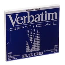 """Verbatim 91203 2.3gb MO 512 5.25"""" Rewritable Magneto Optical Disk 1pk"""