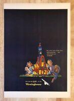 Original Print Ad 1951 WESTINGHOUSE Electric Light