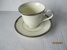 Sorrento Platinum by Noritake Cup and Saucer
