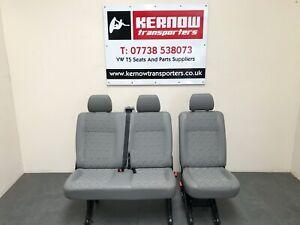 Volkswagen T5 Kombi Seats 2+1 Place Trim Quick Release