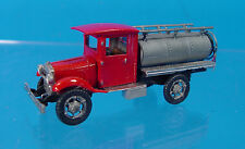 HO/HOn3 WISEMAN MODEL SERVICES OT5149 KLEIBER CLOSED CAB OVAL TANK TRUCK KIT