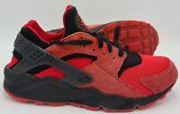 Nike Air Huarache Love Hate Pk Trainers 700878-600 Red/Black UK9.5/US10.5/EU44.5