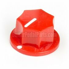 10x Red Fluted MXR Style Knob for guitar pedals