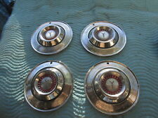 "Vintage 1964 Plymouth Hubcaps Hub Cap 14""? Set Of 4 Part#2409835 VG Condition"