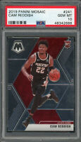 Cam Reddish Atlanta Hawks 2019 Panini Mosaic Basketball Rookie Card #241 PSA 10