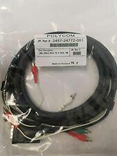 New listing Polycom Dvi+2 Rca to 5 Rca Cable 2457-24772-001 #38A