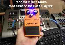 Boss DS-1 Mod Service for Bass Players! Send us your pedal!!