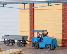 Auhagen H0: 41636 Kleinschlepper (Pomßenschlepper) mit Anhänger - Bausatz