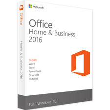 Microsoft Office 2016 Home and Business MS Office Windows Produkt Key