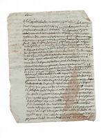 1825 judge manuscript letter