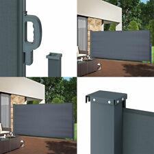 Seitenmarkise Sichtschutz Sonnenschutz Seitenrollo Markise Windschutz ausziehbar