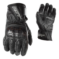 RST Stunt III 3 Men's CE Leather Motorcycle Motorbike Gloves ALL COLOURS