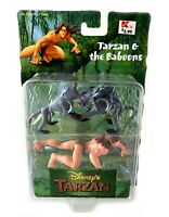 Tarzan & The Baboons Vintage Disney Tarzan Movie Figure Set New 1999 Mattel