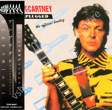 PAUL MCCARTNEY UNPLUGGED OFFICIAL BOOTLEG CD MINI LP OBI Beatles Wings album new
