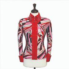 LARGE  Showmanship Pleasure Horsemanship Jacket Shirt Rodeo Queen Rails Outfit