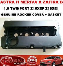 VAUXHALL ASTRA H ZAFIRA B 1.6 Z16XEP Z16XE1 Cam Rocker Cover + GUARNIZIONE 55556284