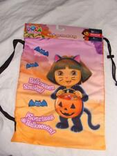 NEW DORA THE EXPLORER CAT HALLOWEEN POLYESTER TRICK OR TREAT BAG SHOULDER STRAP