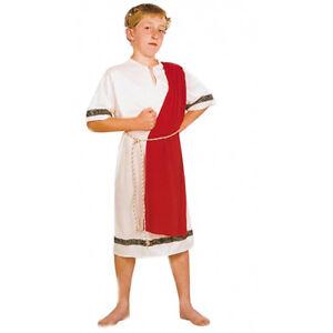 Children Roman Emperor Costume Book Week Treasure Dress Up kids king