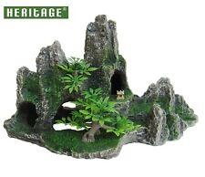✔ Heritage HB026 Aquarium Fish Tank Rock Formation Cave Ornament Decoration Hide