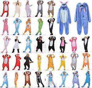 Animal Pajamas Kigurumi Nightwear Cosplay Onsie72 Costumes Adult Jumpsuit Outfit