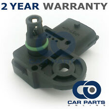 FOR FIAT BRAVO 198 1.4 PETROL 2007-14 MAP MANIFOLD ABSOLUTE AIR PRESSURE SENSOR