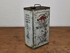 More details for vintage gargoyle vacuum mobiloil a - oil can
