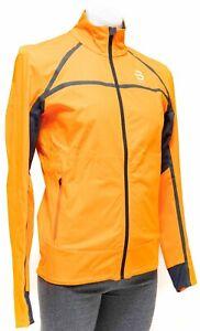 Dahlie Trace Cross Country Nordic Ski Jacket Men SMALL Orange Snow Skate Winter