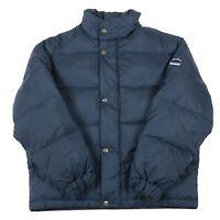 VGC DIADORA Down Fill Puffer Jacket | Men's S | Coat Puffa Retro Feather Hooded