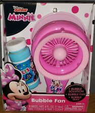 Disney Junior Minnie Mouse Bubble Fan