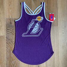 Los Angeles Lakers  Womens Tank Top Size Med  ORIGINAL NBA Purple & Yellow