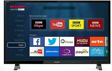 Sharp LC-49CFE6031K FHD 1080p LED Smart TV Freeview HD Saorview USB Record