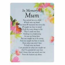 Widdop & Co. Graveside Cards Memorial-In Memory Of Mum TY188