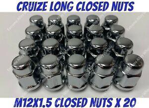 Alloy Wheel Bulge Nuts x 20 M12x1.5 Honda Odyssey Prelude S2000 Shuttle