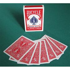 Carte Bicycle Magic gaff card doppio dorso Rosso/Rosso US2210