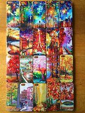 Pintura al óleo nuevo estilo de arte Moda Rígida Posterior Carcasa Protectora de Reino Unido Apple Iphone 5/5S