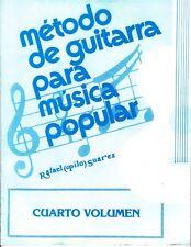 Método de Guitarra para música Popular Vol 4 Pilo Suarez