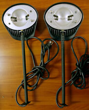 2 Abex Halogen Display Lights For Pop Up Tradeshow Booth