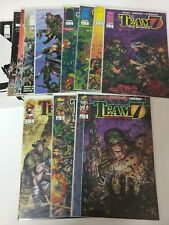 Alternative comic lot Team 7 1(2)-4 Objective Hell 1 2 3  and more NM BB